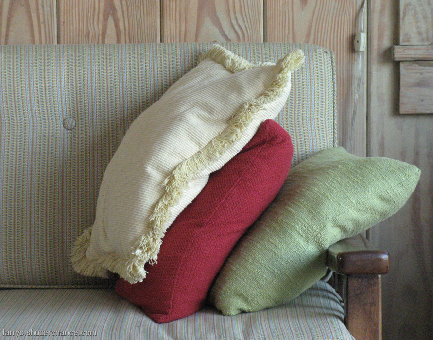 photoblog image Still Life with Pillows