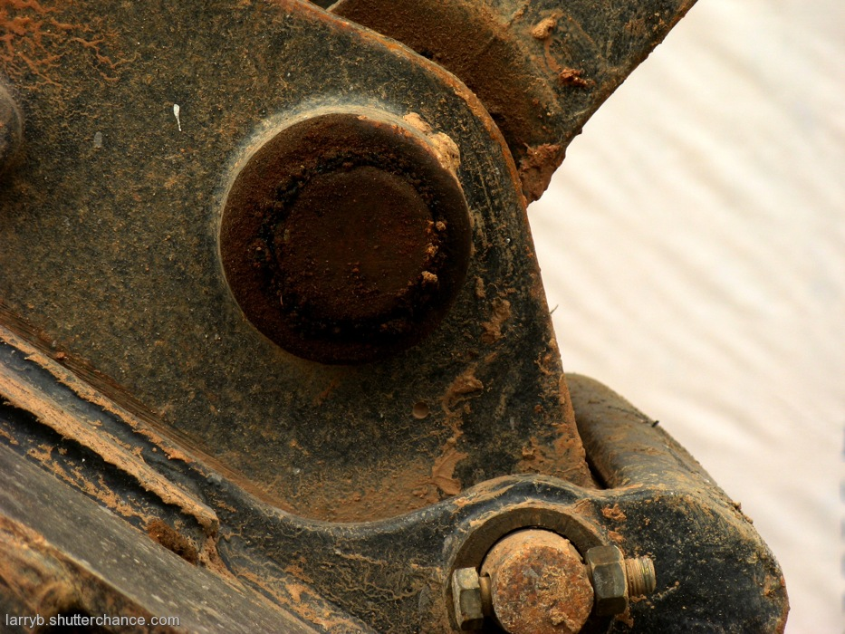 photoblog image More Clay, More Machinery