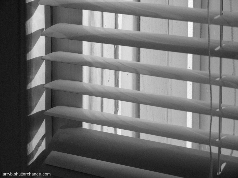 photoblog image Blinds Again