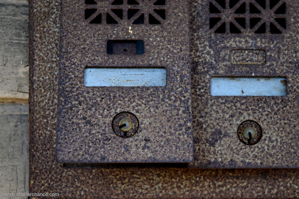 photoblog image Old Mail Slots