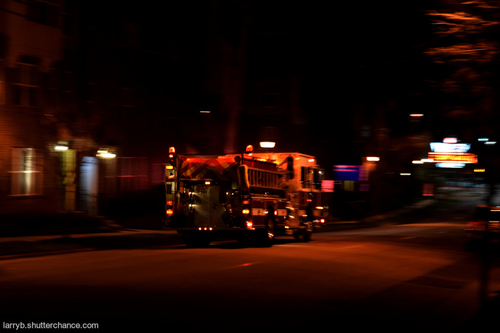 photoblog image Fire in the Night